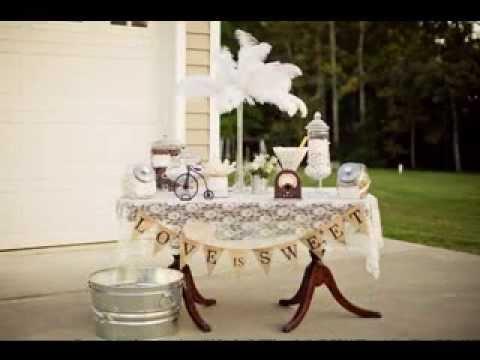 DIY Gender neutral baby shower decorating ideas - YouTube