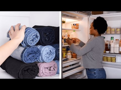 11 Folding and Organization Hacks! | Clever DIY Clothes and Bedding Folding Hacksby Blossom