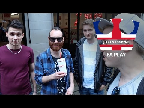 Jirka v Londýně - Sraz s fanoušky a EA play [VLOG]