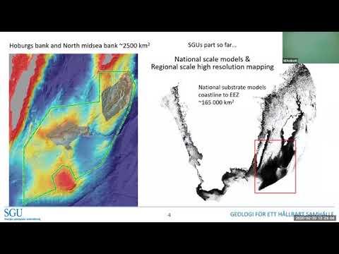 Swedish national underwater geological mapping program