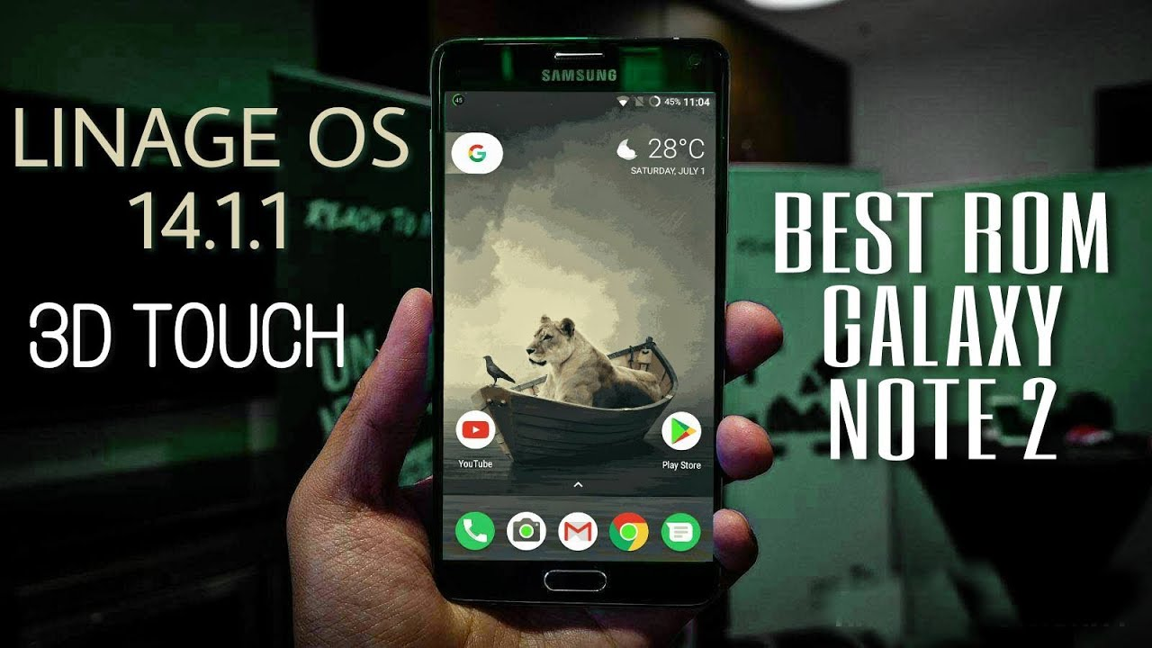 How To Install Lineage OS 14 1 1 (NOUGAT 7 1 1) On Samsung