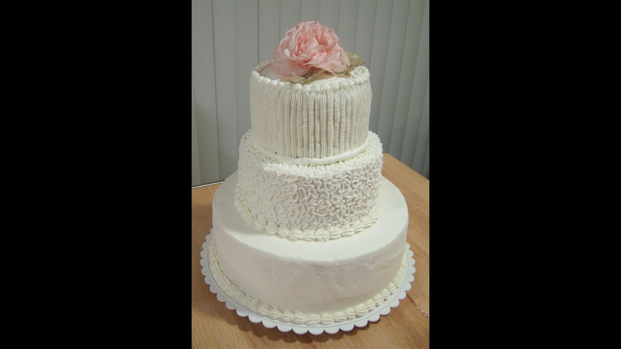 Do-It-Yourself Wedding Cake for Under $50 - YouTube