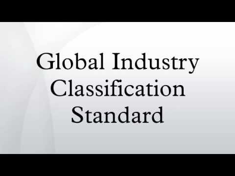 Global Industry Classification Standard