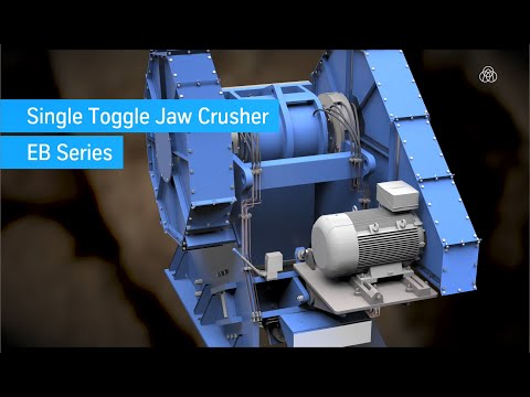 Single-toggle Jaw Crusher - EB Series By Thyssenkrupp Industrial Solutions