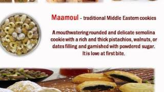 Popular Middle Eastern Pastries