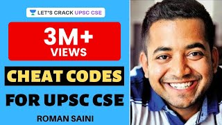 Cheat codes: Tricks to solve any objective questions (MCQs) [UPSC CSE (IAS) prelims] by Roman Saini(An ultimate masterpiece and your one stop solution to tackle any MCQ (Multiple choice question). Even without knowing the actual answer, you will be able to ..., 2015-08-21T20:14:33.000Z)