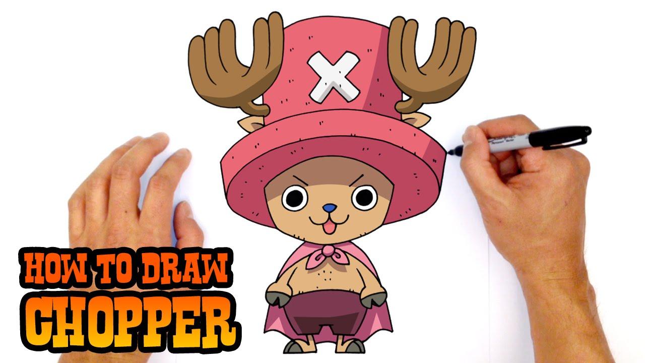 How To Draw Tony Tony Chopper One Piece Youtube
