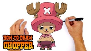 How to Draw Tony Tony Chopper | One Piece