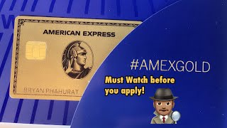 AMEX Gold Card Unboxing! 40 Bonus Points + How To Maximize Every MR POINTS #AmexGold #AmexBenefits