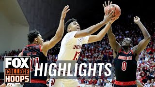 Indiana vs Louisville | FOX COLLEGE HOOPS HIGHLIGHTS