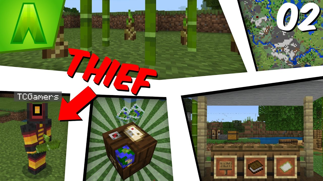Download He STOLE My Bamboo! - Ascendant SMP Season 1 Episode 2