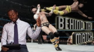 Kofi Kingston drops the BOOM on Randy Orton! - WWE Behind the Match