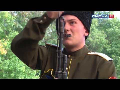 Конкурс на знание материальной части стрелкового оружия в игре «Казачий сполох» в ВДЦ «Смена»
