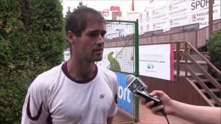 Michal Franěk po prohře v prvním kole kvalifikace na turnaji Futures v Praze