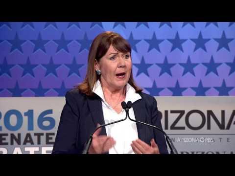 2016 U.S. Senate debate: McCain and Kirkpatrick