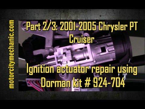 part 2/3: 2001-2005 chrysler pt cruiser ignition actuator repair, Wiring diagram