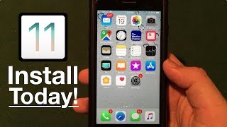 Ios 11 released: install now! features, storage, battery, & performance!