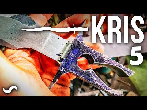 KRIS BLADE DAMASCUS DAGGER!!! Part 5