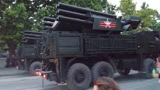 Военная техника. Репетиция Парада Победы в Севастополе 18 июня 2020 г.