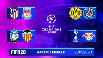 FIFA 20: Champions League - 1/8-Finale Teil 1 I Saison 2019/20 Deutsch [FULL HD]