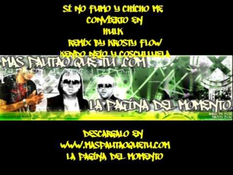 Si No Chicho y Fumo Me Convierto En Hulk Remix By Krosty Flow.wmv