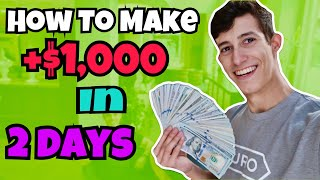 How I Made $1,000 Profit In 2 Days | Investing 101