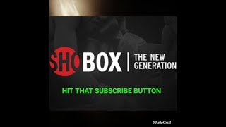 ESPN/SHOBOX:GREER VS ESCANER/FOX VS ERGASHEV  FULL FIGHT CARD COMMENTARY (NO VIDEO)