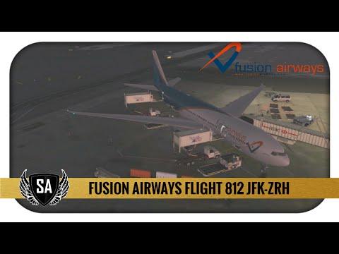 FUS812 JFK✈ZRH | VATSIM Zurich Event | PMDG 777-200LR | FS2CREW