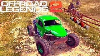 OFFROAD LEGENDS 2 гонки МОНСТР ТРАКИ прохождение игры monster truck 7