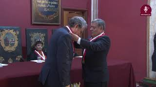 Tema: Profesor Emérito al Dr. Manuel Burga