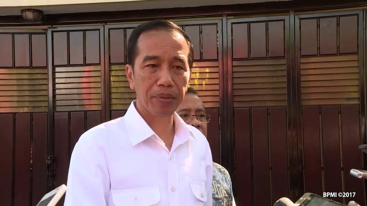 Keterangan Pers Presiden RI Terkait Aksi Teror Bom di Jakarta Timur, Surakarta, 25 Mei 2017
