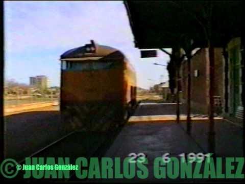 Locomotora Cockerill 7083 en Estacion Neuquen
