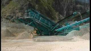 Video still for Powerscreen Chieftain 2100