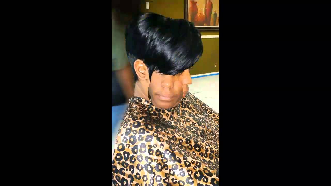 Quick Weave Short Cuts Bobs And More Youtube