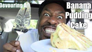 gluten free banana pudding vanilla waffer cake