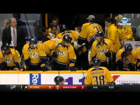 Mike Fisher Injury Vs Arizona