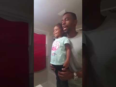 Dad Motivates Daughter for School