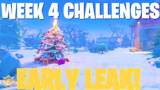 FORTNITE SEASON 7 WEEK 4 CHALLENGES LEAKED | Cinematic review