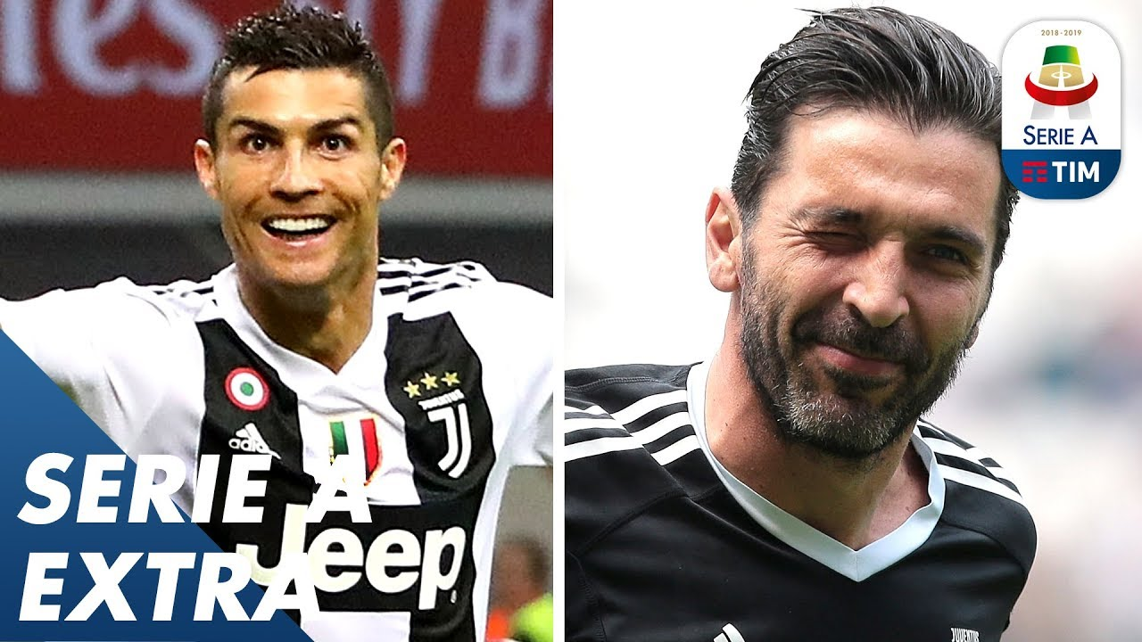 Welcome Ronaldo, Farewell Buffon - An Incredible 2018 for Serie A   Happy New Year!   Serie A
