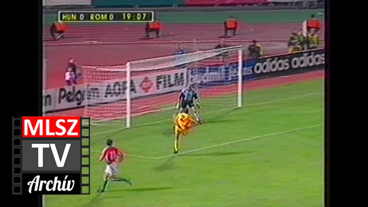 Magyarország-Románia | 1-1 | 1998. 10. 14 | MLSZ TV Archív