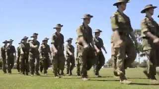 Australian Army Cadets Ceremonial Parade at Victory Park Shepparton