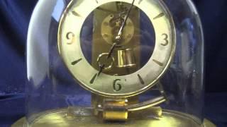 Vintage Kundo Electronic Keninger&obergfell Electro-magnetic Pendulum Mantle Clock