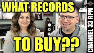 How to decide what records to buy? PLUS Zero Dust VS Magic Eraser | Ask Me Anything
