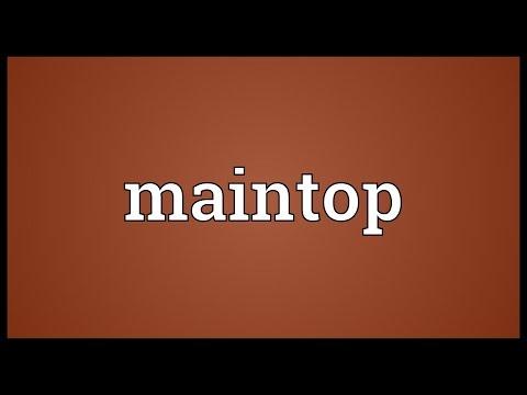 Header of maintop