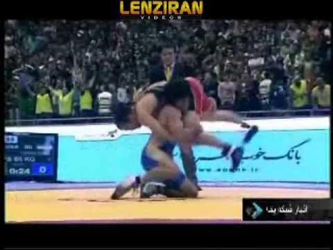 Iranian wrestlers won Americans 6-1 In Free Style wrestling in Tehran