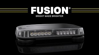 Fusion Mini Light Bar // The Brightest Mini Light Bars for Police, Firefighters and EMS
