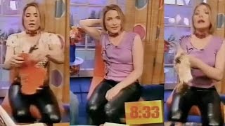 Lisa Rogers in Leather Trousers 3 | CleverTrevor101