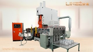 fully automatic aluminium foil food container making machine leader manufacturer