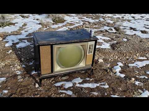 Montgomery Ward color roundie television RCA CTC 15 clone