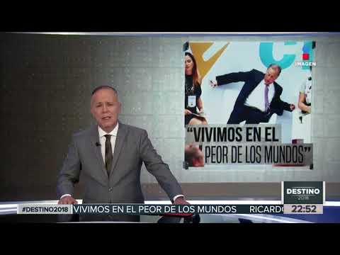 José Antonio Meade estuvo a punto de caer de una silla | Noticias con Ciro Gómez Leyva